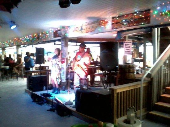 Caddy's on the Beach: Caddy's Treasure Island band