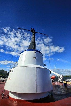 Quebec - Levis Ferry : deck