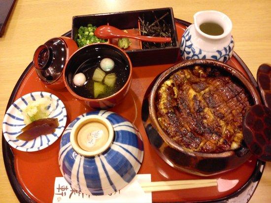 Hitsumabushi Nagoya Bincho, Lachic: Hitsumabushi grilled eel