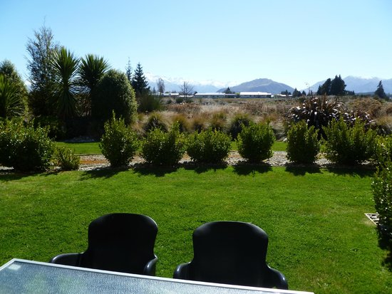 Oakridge Resort Lake Wanaka : The view from our one bedroom apartment