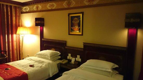 Lhasa Manasarovar Hotel: 房間