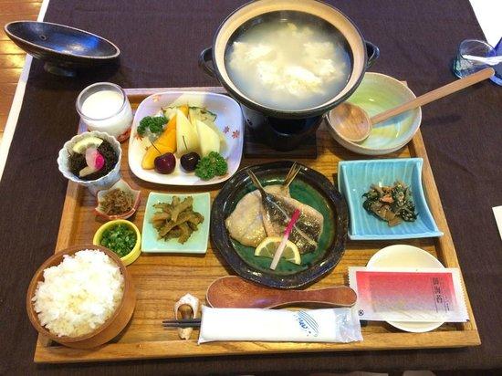 Hotel Miyahira: 別料金のゆし豆腐