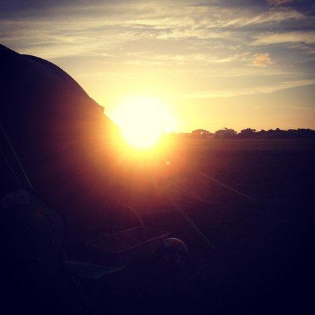 Pitchperfect Camping : Sunset at Pirchperfect