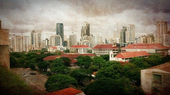 Asoke Residence Sukhumvit: view from my room