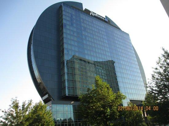 Radisson Blu Hotel, Frankfurt: What a shape