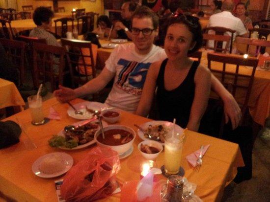 Islandish Seafood Restaurant: Black pepper prawns