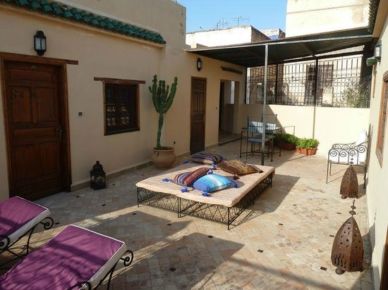 Riad Letchina : L'une des trois terrasses