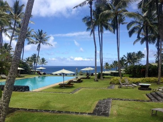 Travaasa Hotel Hana: Amazing pool area