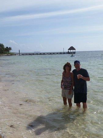 Maya Chan Beach : Really enjoyed the open bar!