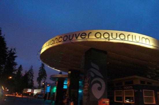 Vancouver Aquarium: 入り口