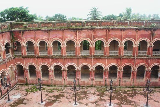 Itachuna Rajbari: Balcony
