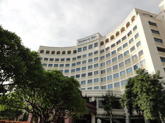 Mandalay Hill Resort : ホテル外観