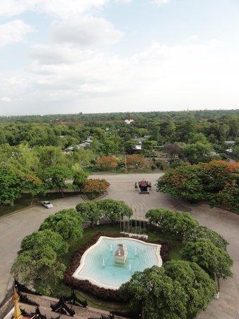 Mandalay Hill Resort : 客室からの眺め