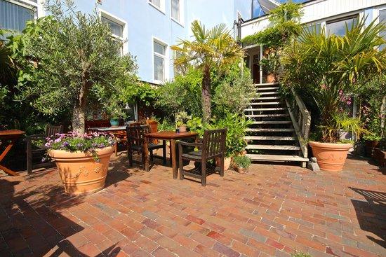 Atlantic Hotel Garni: Garten