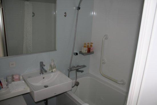 New Miyako Hotel: Bathroom