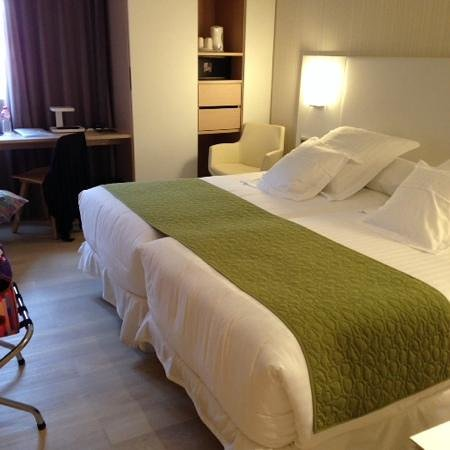 Barcelo Bilbao Nervion: lovely, comfortable beds!