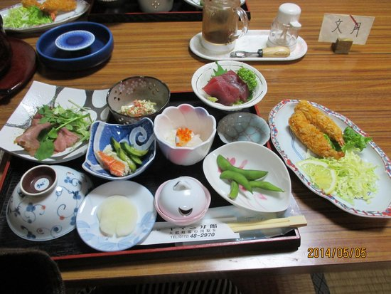 Yamani Bunkan: 家庭的な夕食