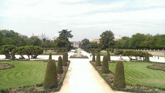 Retiro Park (Parque del Retiro): Jardin
