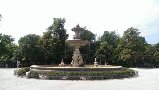 Retiro Park (Parque del Retiro): Fuente