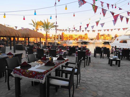 Moods Restaurant & Beach Club : Ramadan tent