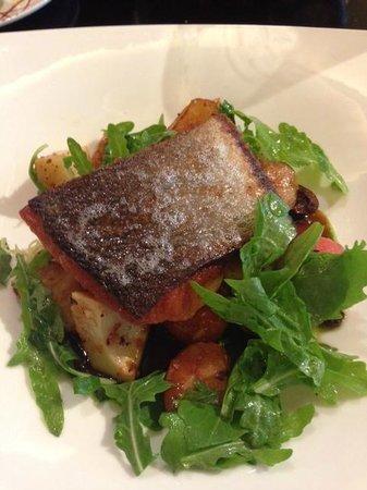 DB Bistro & Oyster Bar: DB Bistro Crispy Salmon