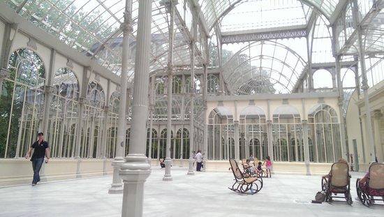 Retiro Park (Parque del Retiro): Palacio de Cristal
