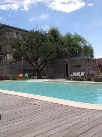 Elda Eco Ambient Hotel: piscina e la sauna esterna