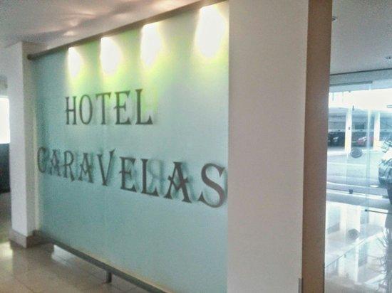 Hotel Caravelas: Near the entrance