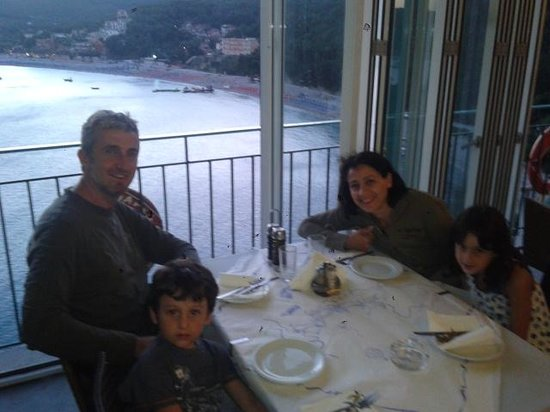 Taverna Stefanos: panorama al piano superiore