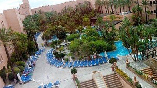 Playacalida Spa Hotel: zona piscina