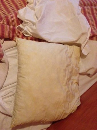 Hotel d'Alsace : disgusting smelly pillows