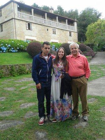 Casa Grande de Fuentemayor: con el señor Maril