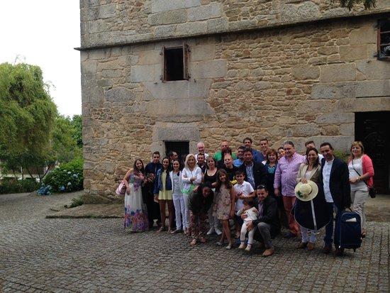 Casa Grande de Fuentemayor: despedida de todo el grupo
