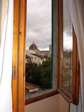 Hotel Caravaggio: Vista dalla camera