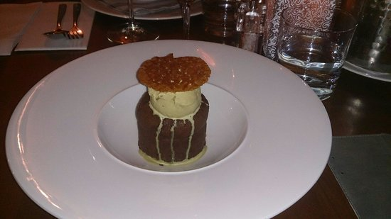 Commando Restaurant : Chocolate fondant