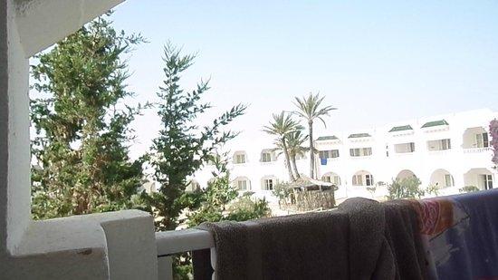 Djerba Sun Club: Vue sur les jardins!!