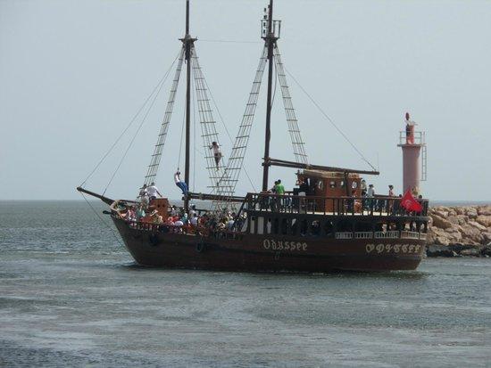 Djerba Sun Club: Bateau pirate