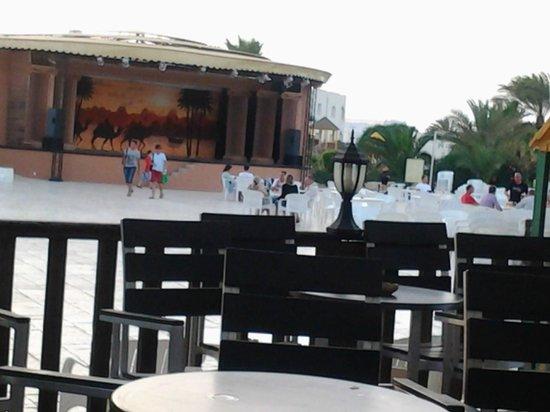 Djerba Sun Club : Scène de spectacle!!!