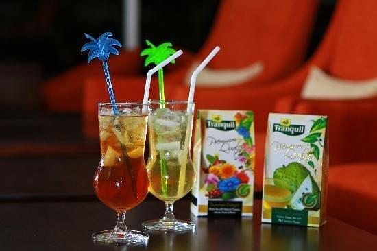 Tranquil Ultra Lounge: Iced teas