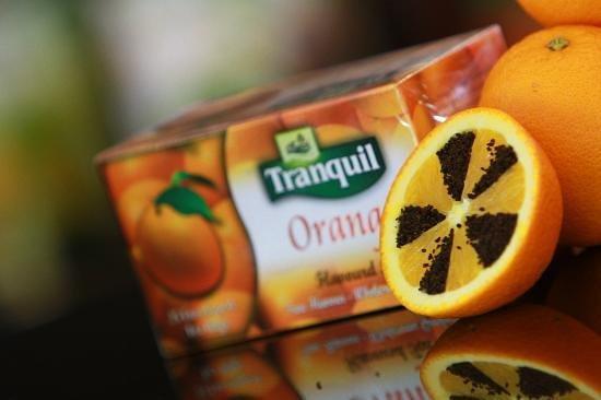 Tranquil Ultra Lounge: Lemon tea