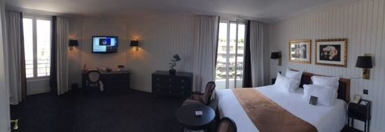 Hôtel Barrière Le Majestic Cannes: Room 505