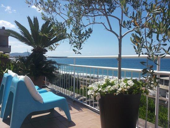Hotel Tigullio: terrazza