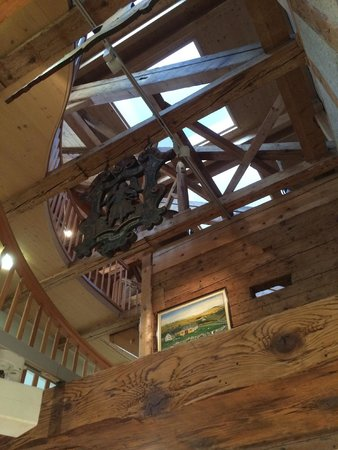 Museum Appenzell: Rafters in the upper floors