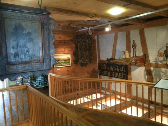 Museum Appenzell: Wood paintings