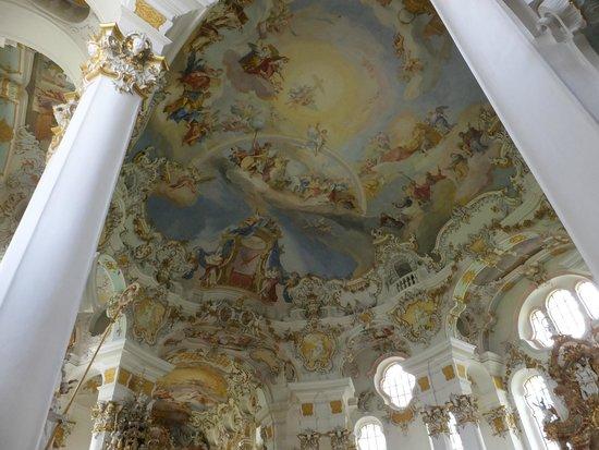 Wieskirche: 教会 天井