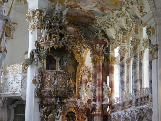 Wieskirche: 教会内 ④