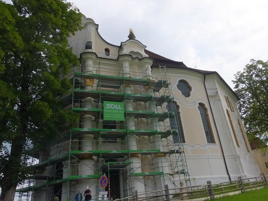Wieskirche: 外観 ②