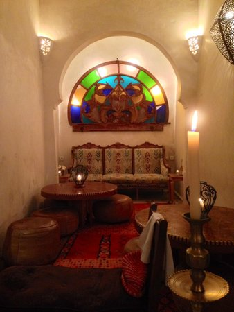 Riad Malaika: Dining room