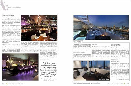 ME London Hotel: 2nd page of the review published