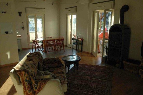 B&B La Terrazza alla Ghiacciaia : soggiorno per gli ospiti